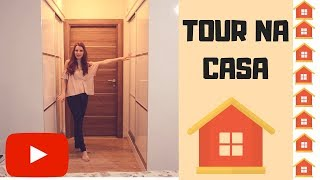Venha conhecer nosso novo apartamento! Tour na nossa casa na Turquia!