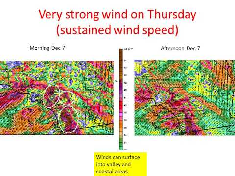 Strong Santa Ana Wind and Extreme Fire Danger – NWS San Diego