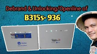 B315s-936 Modem Openline / Unlocking and Debrand