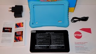 Dragon Touch 7 Zoll Kids Tablet - Unboxing, Testbericht, Review und Fazit [german] | Nerdy Testing