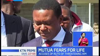 Governor Mutua fears for his life, but Senator Murkomen says claims are mere theatrics