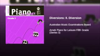 Diversions: II. Diversion