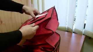 Подвесной органайзер для хранения одежды на 6 полок