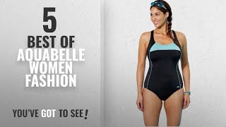 Aquabelle Women Fashion [2018 Best Sellers]: Aquabelle Women's Plus Size Chlorine Resistant Xtra
