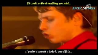Franz Ferdinand - I'm your villain (inglés y español)