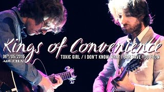 Kings of Convenience - Toxic Girl / I Don't Know What I Can Save You From (live in Paris 2015)