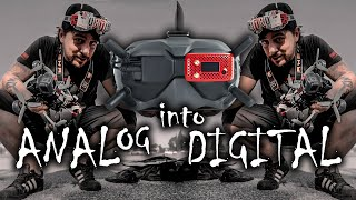 Analog into Digital DJI ... how is good the Digidapter ? - SUB EN ( Frank Citro )