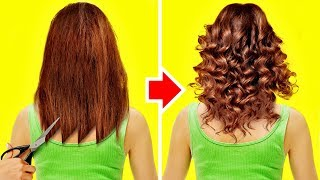 48 HAIR HACKS THAT WILL GIVE YOU GOOSEBUMPS