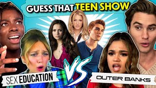 Outer Banks & Sex Education Casts Play Guess That Teen Show | React