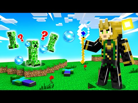PLAYING as LOKI in Crazy Craft! (Minecraft)