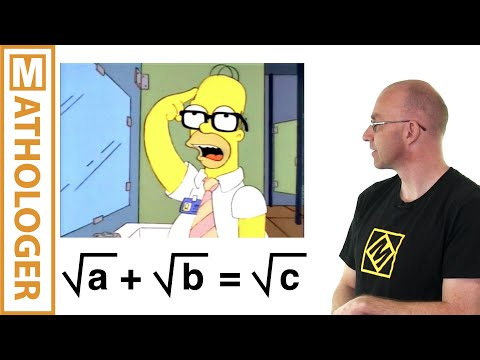 Math In The Simpsons: Homer's Theorem Mp3