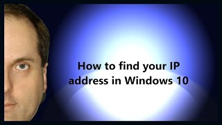 How to find your IP address in Windows 10