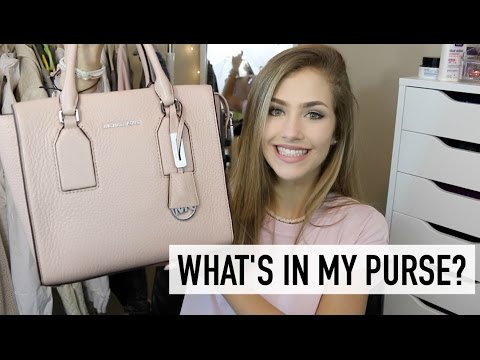WHAT'S IN MY PURSE 2016! | Mel Joy