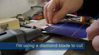 Howto: Cut solar cells in custom sizes