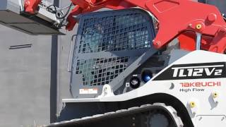 New TAKEUCHI TL12 compact track loader for sale, small track