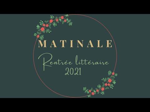 Matinale Rentrée Littéraire 2021 - Lucie