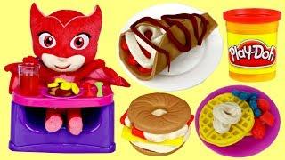 PJ MASKS OWLETTE Play-Doh Kitchen Creations Breakfast Bakery