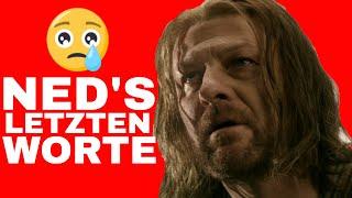 Ned Stark letzte Worte ► Sean Bean erklärt | Ygritte wirft Jon raus | GoT Staffel 8