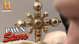 Pawn Stars: Baroque Diamond Cross | History