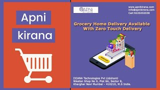 Grocery Home Delivery Available With Zero Touch Delivery | Apni Kirana