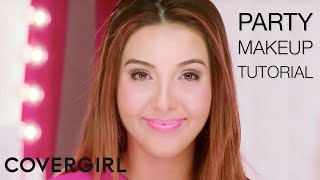 Party Makeup Tutorial | COVERGIRL & Giselle Ugarte