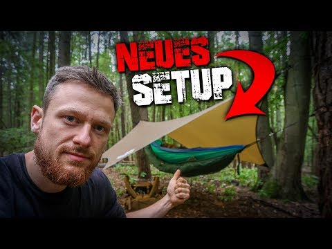 Amazonas Hängematte Underquilt Tarp Ultra Light - Outdoor Ausrüstung Review Unboxing