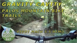 Gravity Cavity downhill at Palos Trail System