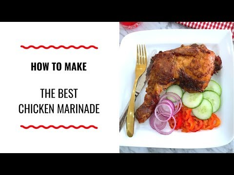 HOW TO MAKE THE BEST CHICKEN MARINADE – HOLIDAY SERIES EDITION – ZEELICIOUS FOODS