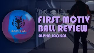 MY FIRST MOTIV BOWLING BALL REVIEW | Motiv Alpha Jackal Bowling Ball Review w/ Wesley Low