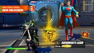 NEW Boss Superman Fortnite Update