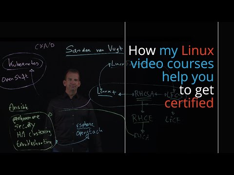 Linux certificates explained + video courses to become a certified ...