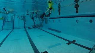 Game 171 - (CAN vs ARG U24M) - CMAS Underwater Hockey Age Group Worlds - Sheffield, UK (Court B)