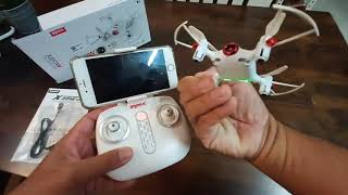 Syma X20W Mini drone review and test