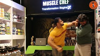 Gym Powder Prank   Prankster Rahul   Tamil video   PSR India 2021