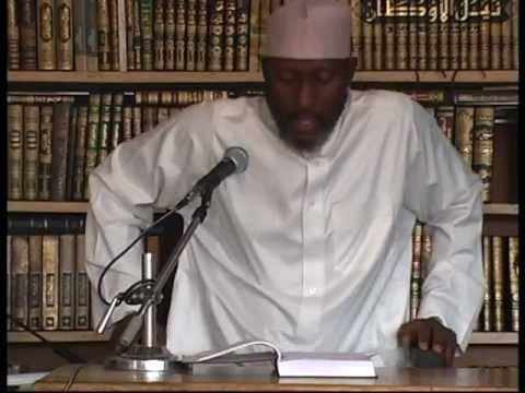 Sheikh Awwal Albany Zaria(Umdatul Ahkam 6b)