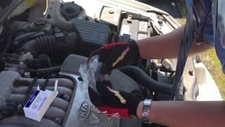 How to replace Canister Purge Valve Kia Optima  P0442 P0455 Evap emission system leak codes