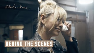 Filming Get's EMOTIONAL With My Mum | Behind The Scenes | Sorry | Mali Koa