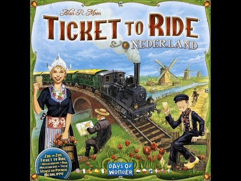 Ticket to Ride: Nederland - A Forensic Gameology Review