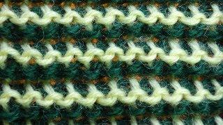 ОЧЕНЬ РЕДКИЙ УЗОР тунисское вязание   Tunisian crochet lesson   узор 81
