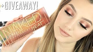 NAKED HEAT PALETTE TUTORIAL + GIVEAWAY | Jazzi Filipek