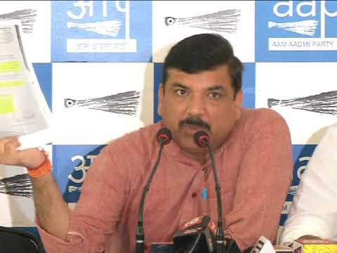 AAP Press Brief on Gorakhpur Issue