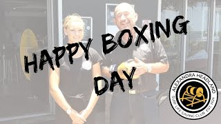 Happy Boxing Day from Alex