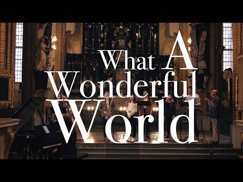 Isabella Lundgren & Bear Garden – What a Wonderful World (Performed live in Stockholm Cathedral) online metal music video by ISABELLA LUNDGREN