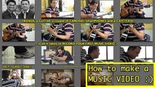 How to make a MUSIC VIDEO ? - adityapathak