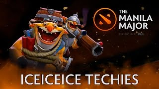 Techies picked in Manila Major by iceiceice — Dota 2