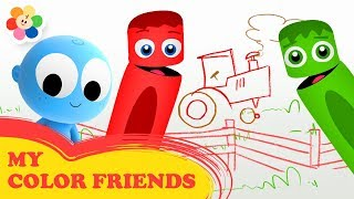 My Color Friends | New Episode Tiger | Fun Educational