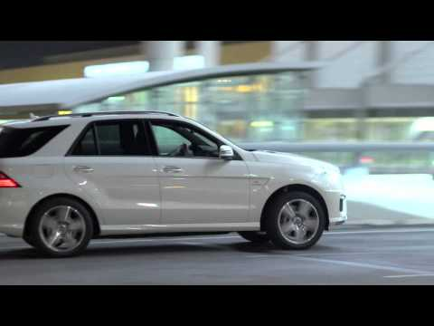 Mercedes-Benz ML63 AMG -- All-Wheel Drive SUV