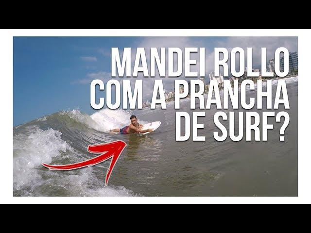 MANDEI ROLLO COM A PRANCHA DE SURF? | Desafios #02 | Surf Dicas