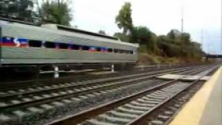 preview picture of video 'SEPTA and Amtrak at Folcroft'