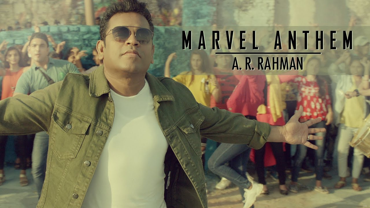 Avengers Endgame Hindi Anthem (Featuring A.R. Rahman)